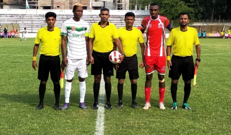 Muktijoddha, NoFeL play out 1-1 draw