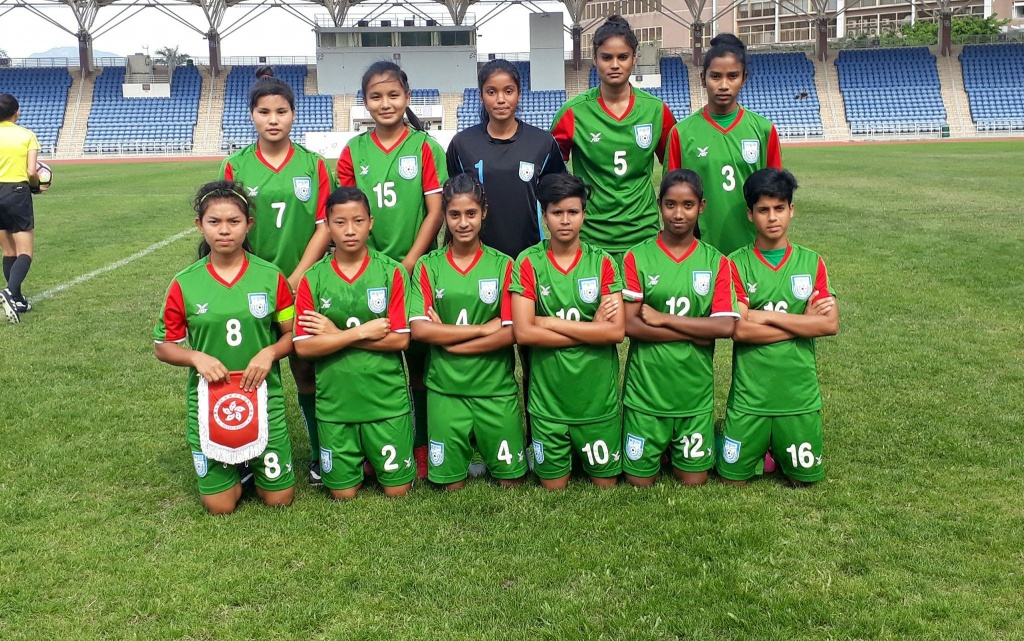 Press meet and grand reception of U15 girls Thursday