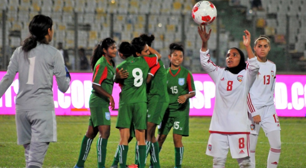 BAN 2-0 UAE: Bengal girls dominate UAE in Bangamata opener