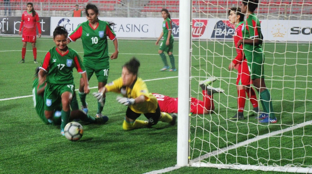 U19 girls end AFC campaign with 5-1 rout of Tajikistan