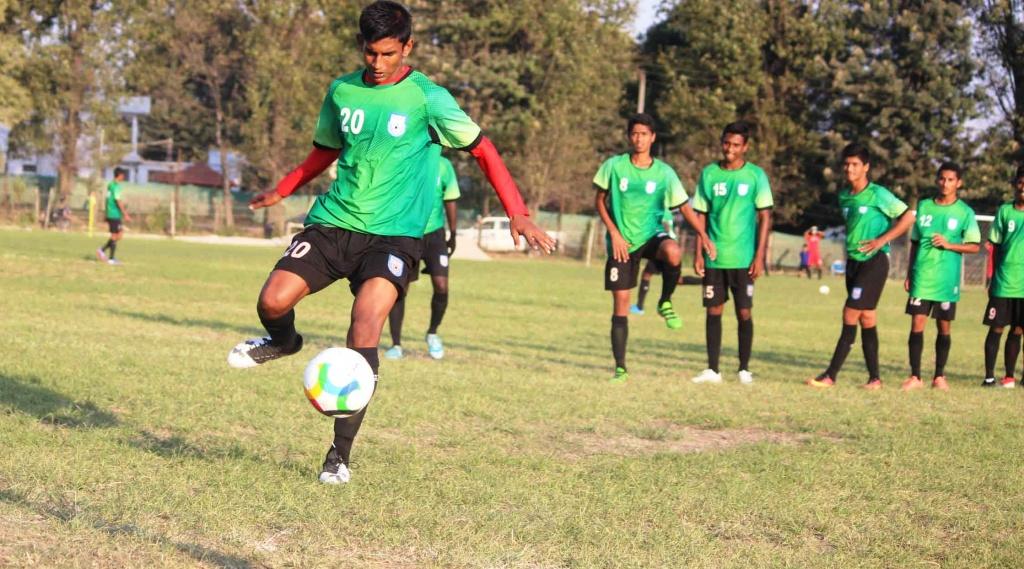 U15 boys working on fine-tuning ahead of Maldives clash