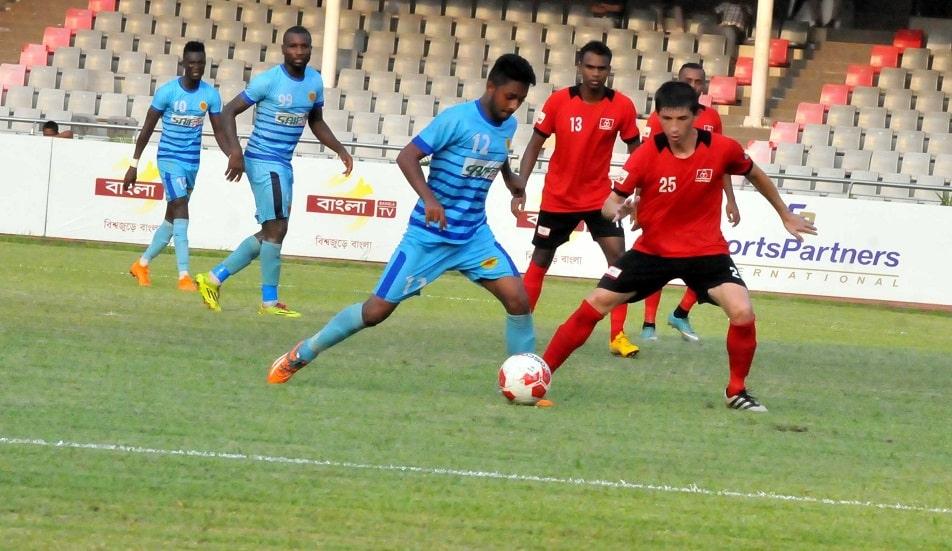 Arambagh win tough battle over Chittagong Abahoni