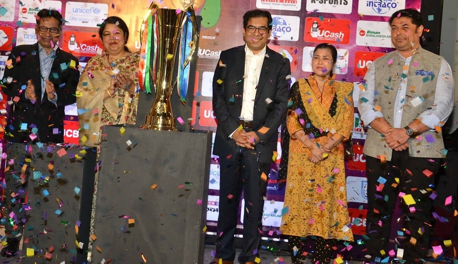 Bangamata Gold Cup trophy unveiled