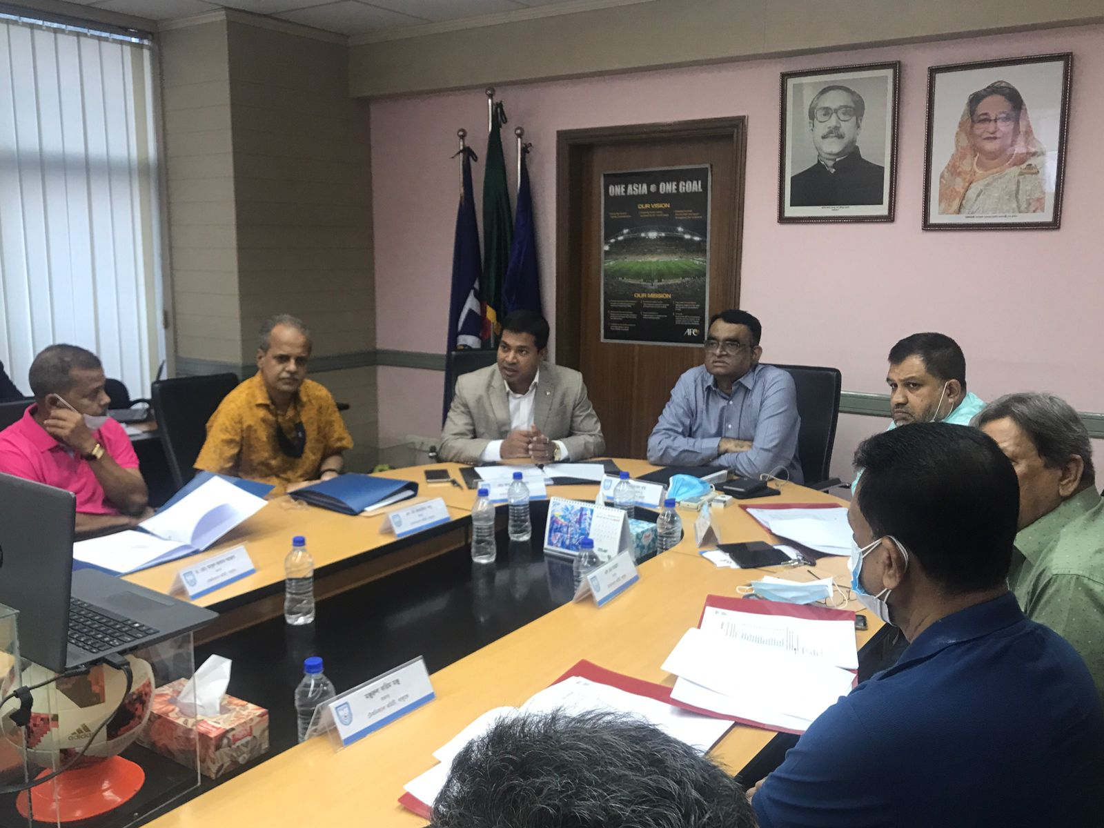 First meeting of the technical committee of BFF was held today