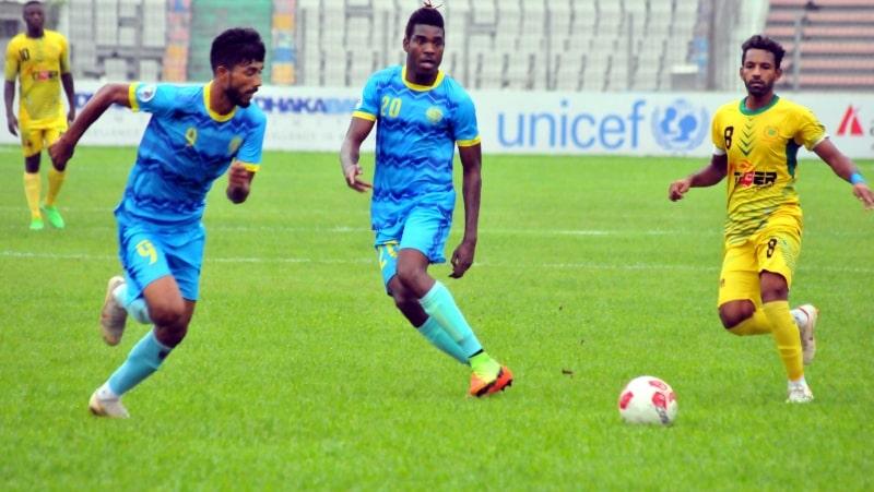 Abahani thrash Rahmatganj 5-2