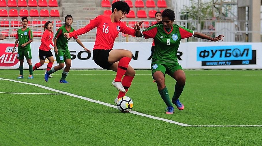 S. Korea prove too hot to handle for U19 girls