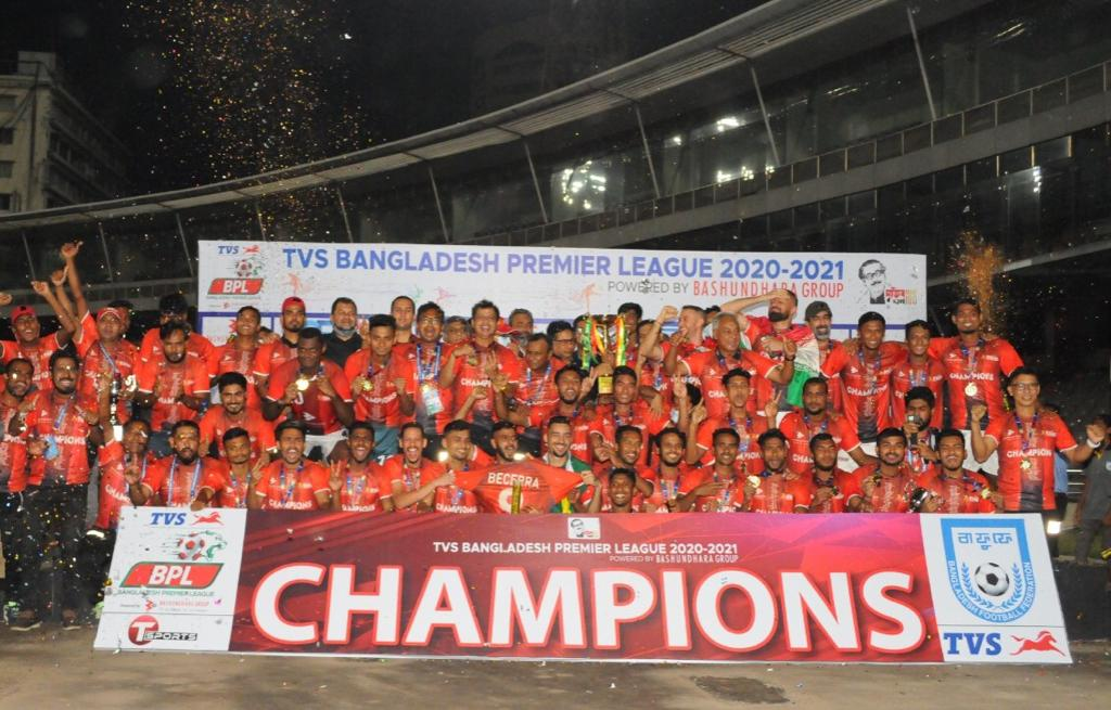 Bashundhara Kings wins the BPL 2020-21
