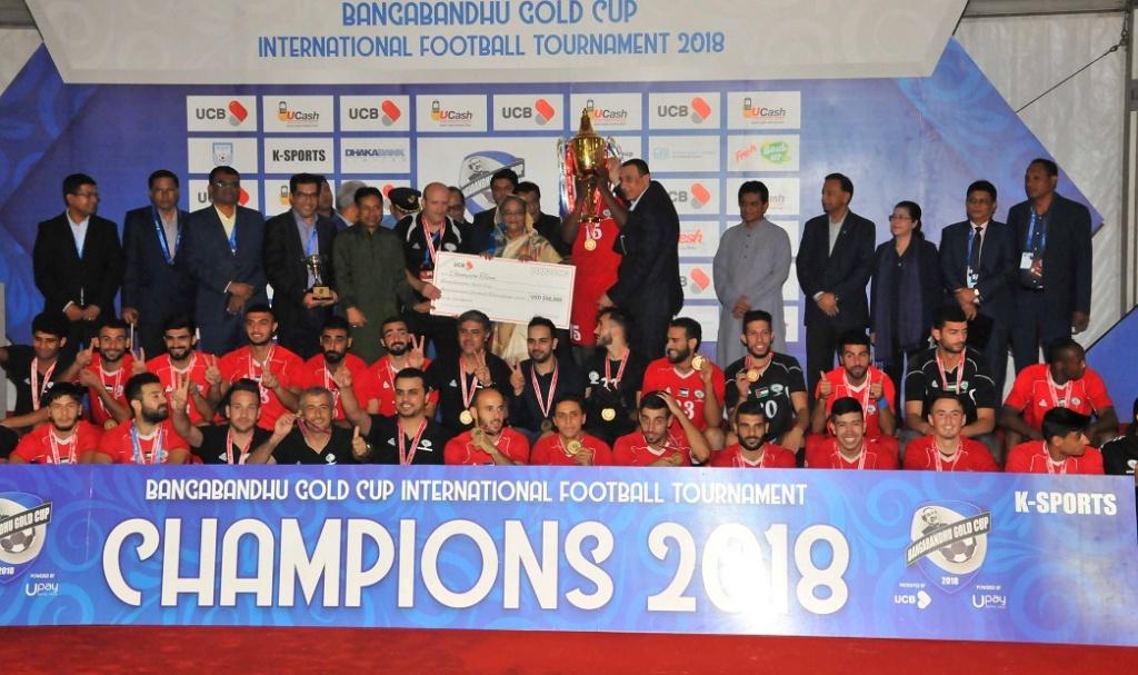 Palestine win Bangabandhu Gold Cup after penalty drama
