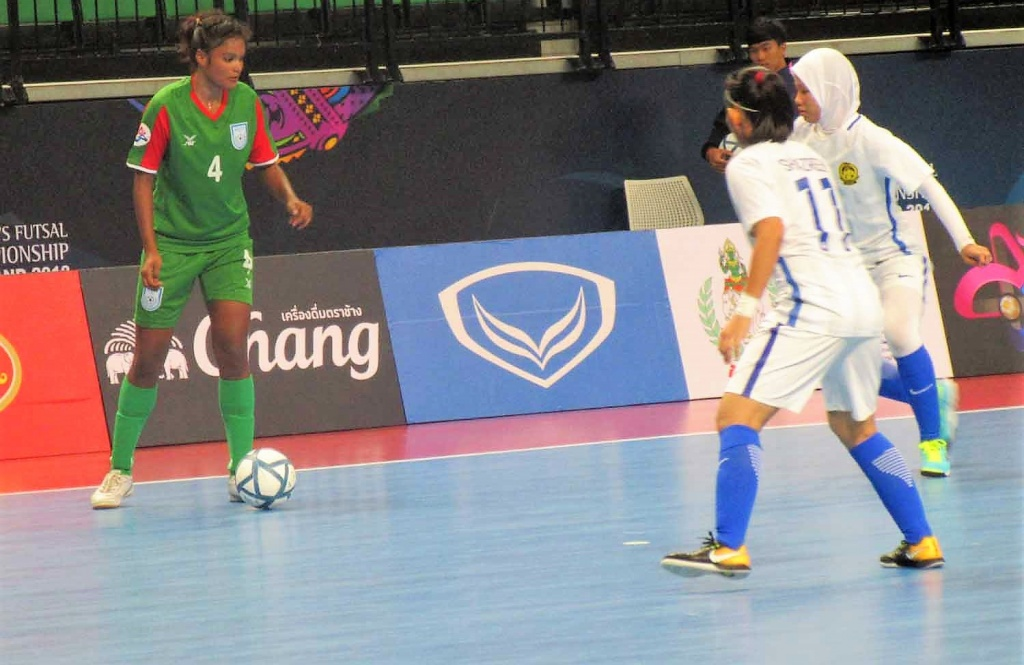 Women's futsal: Bengal girls lose 7-1 to Malaysia