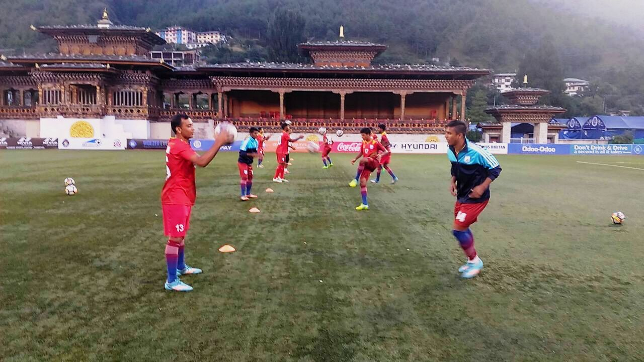 Bangladesh U18 show a better brand of football
