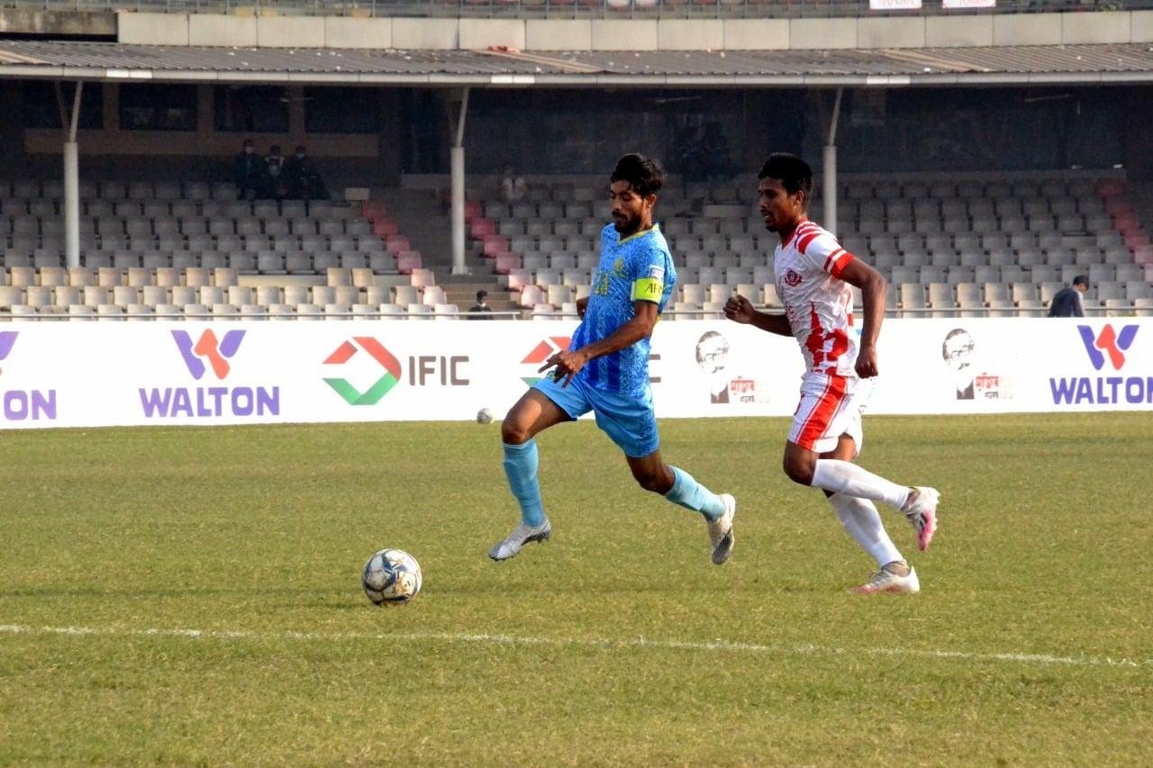 Abahani Limited dominates the match
