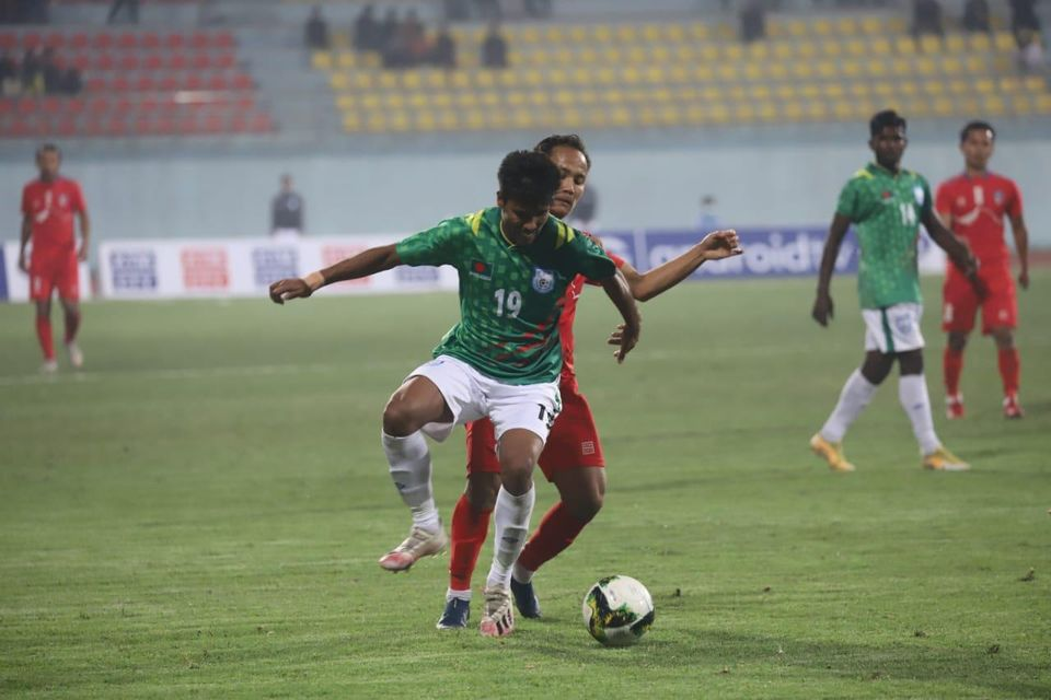 Nepal won the Tri Nations Football Tournament 2021 cup