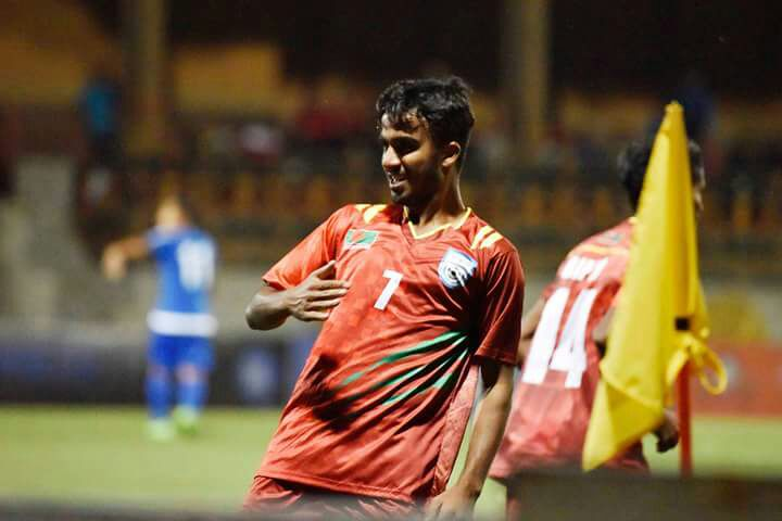 SAFF U18: Nepal win 2-1 against 10-man Bangladesh
