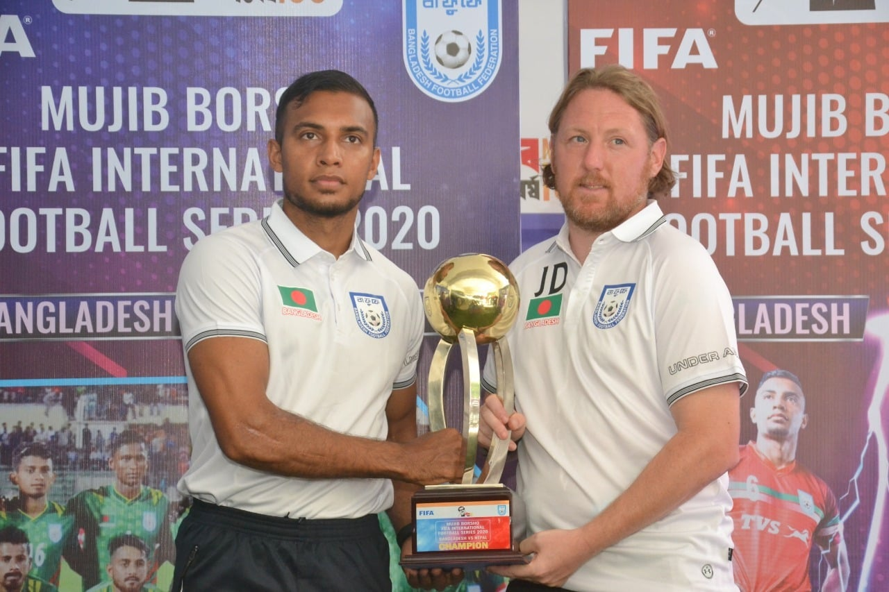 Mujib Borsho FIFA International Football Series 2020: Pre Match Press Conference