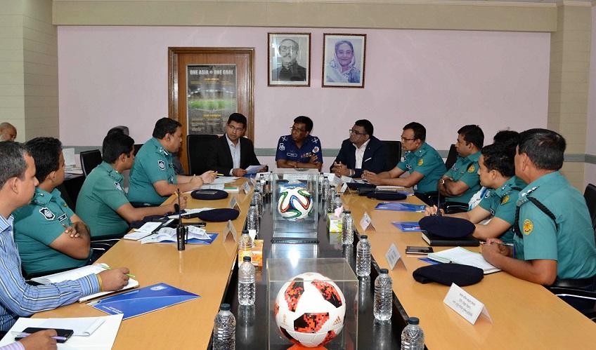SAFF security meeting held