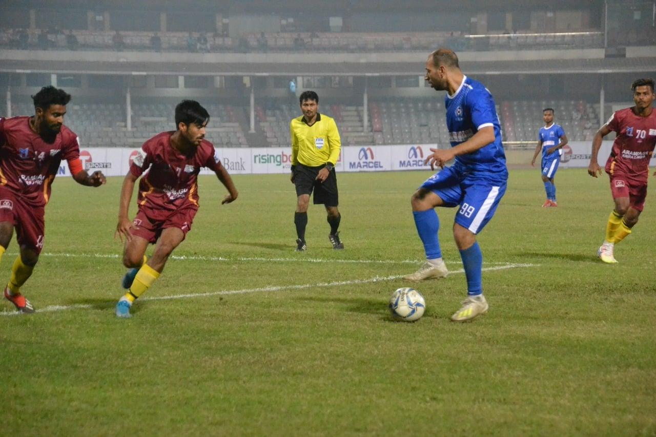 North Baridhara Club wins over Arambagh KS