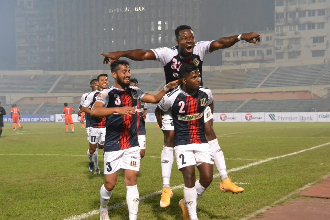 Saif Sporting Club wins by a huge margin
