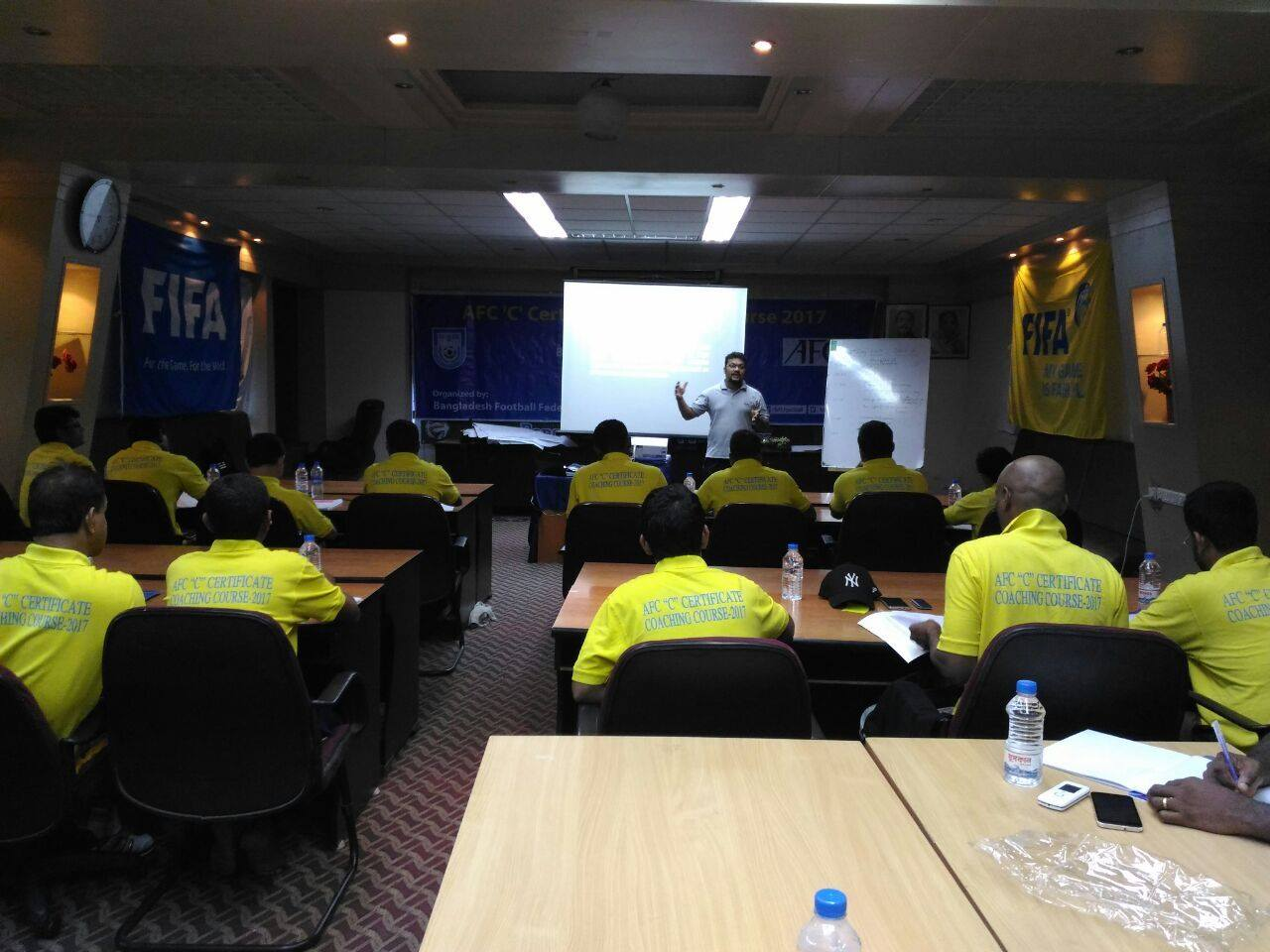 BFF announces schedule of AFC coaching courses