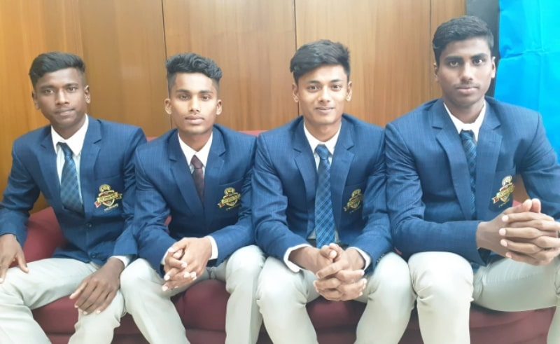 Four prodigies back after successful camp in Brazil