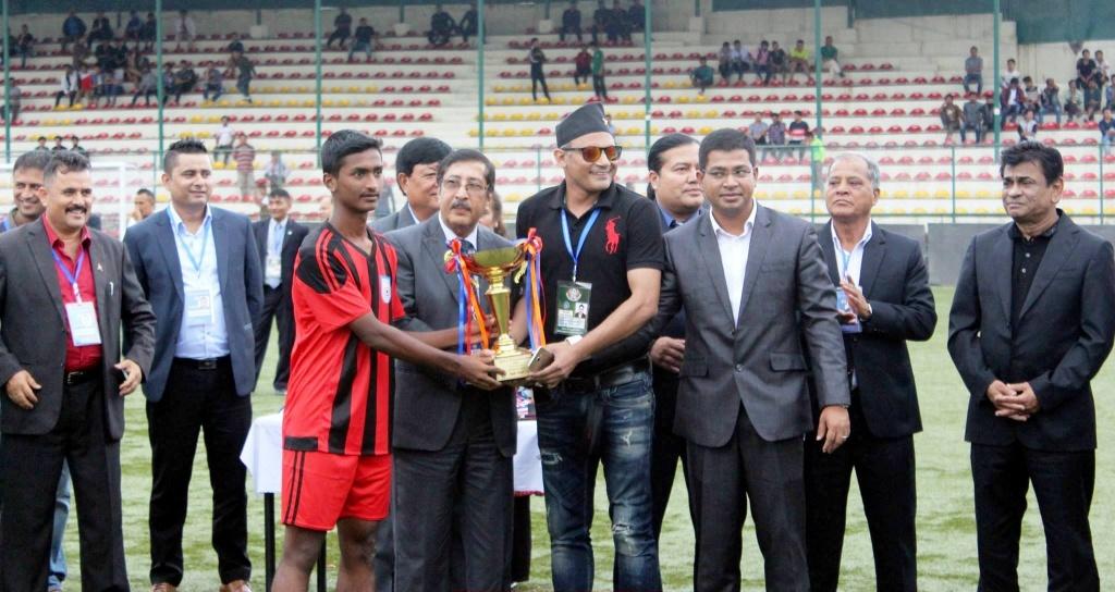 U15 boys claim third place in SAFF Championship