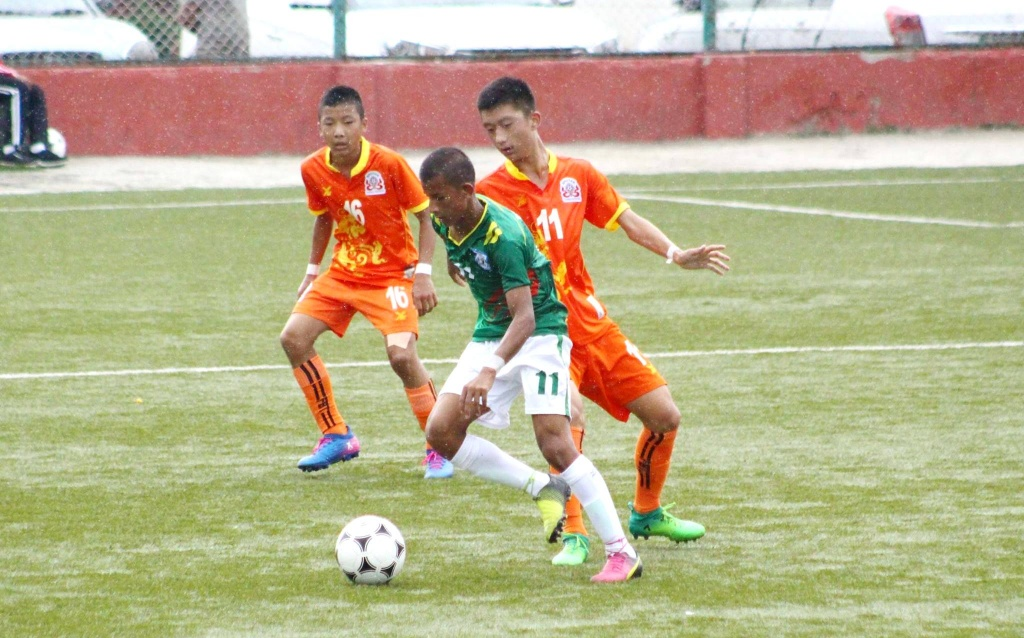 U15 boys beat Bhutan, enter SAFF semis