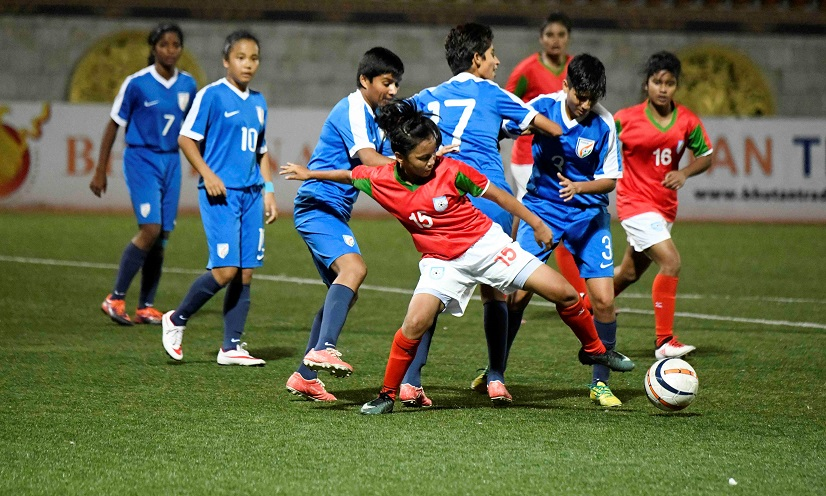 Valiant U15 girls lose SAFF crown to India 1-0