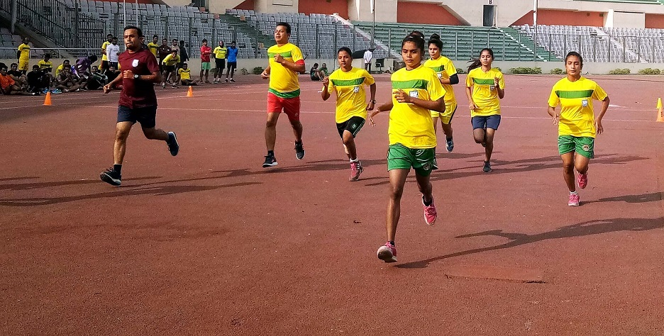 Third Quarterly Fitness Test of referees held