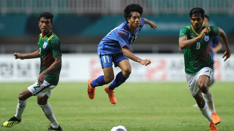 Bangladesh force Thailand to 1-1 draw