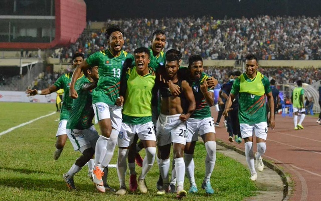 Return of the Football: Bangladesh won against Nepal by 2-0 goals