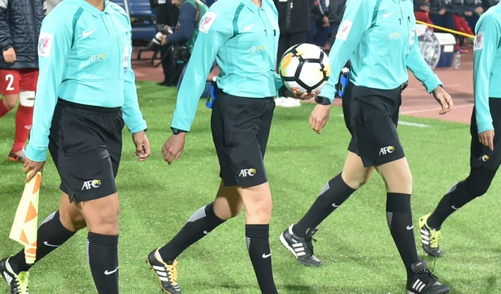 Women Football Referee Refreshers Course begins tomorrow
