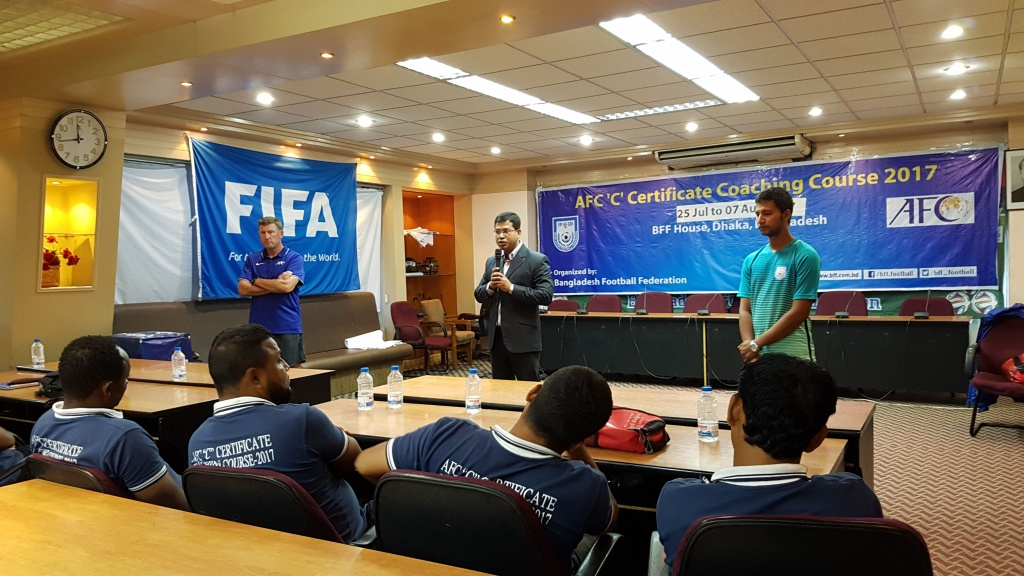BFF AFC 'C' Certificate Coaching Course ends