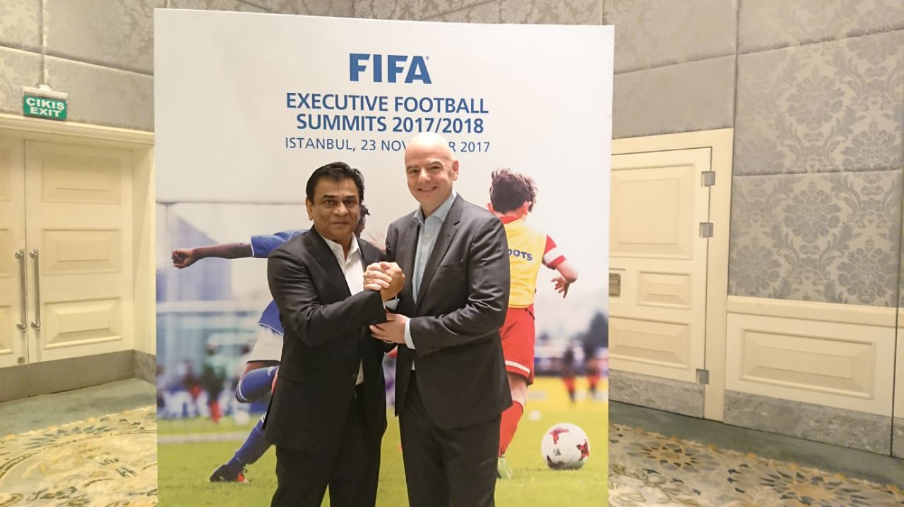 Istanbul hosts FIFA Executive Football Summit
