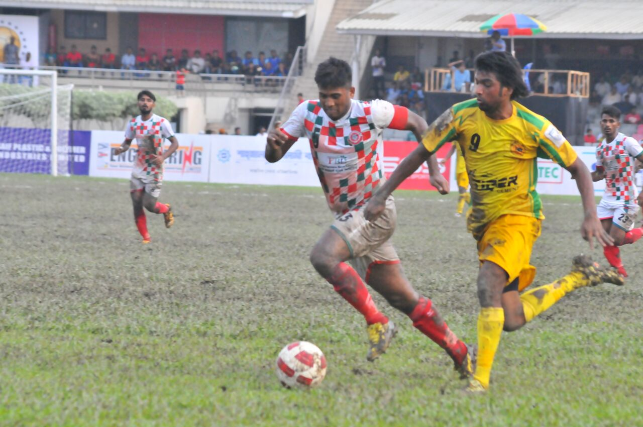 Muktijoddha beat Rahmatganj 3-2