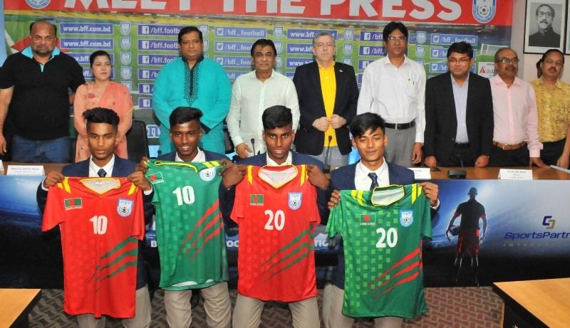 Nazmul, Mithu, Nahid, Lakra meet BFF President