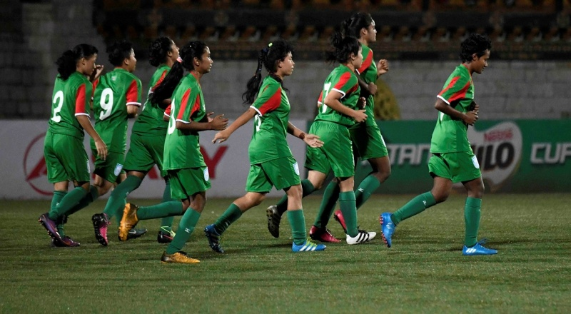 U15 girls set their eyes on Nepal