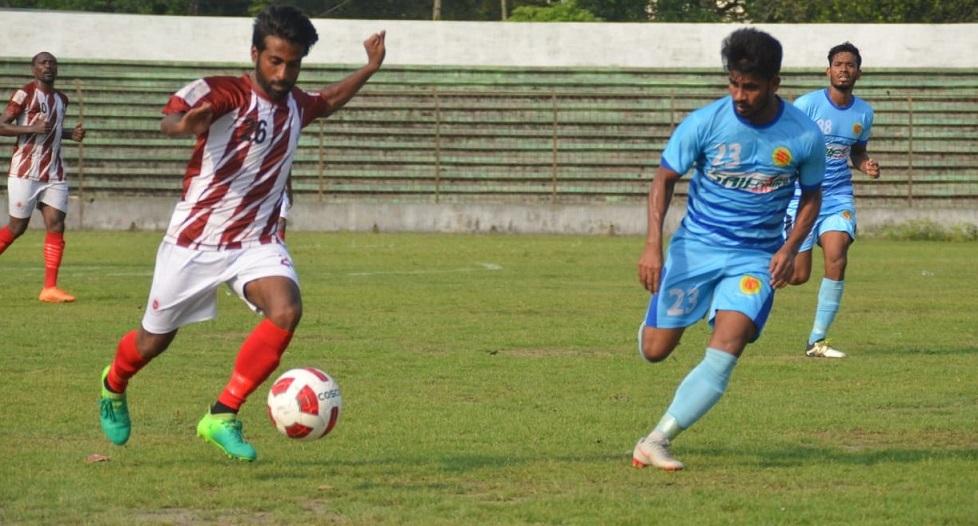 BPL: BJMC, Ctg Abahoni draw 1-1