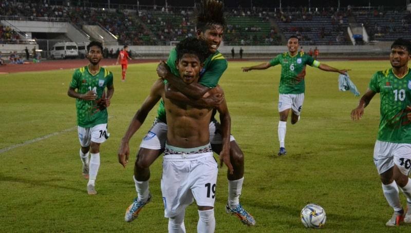 Bangladesh trump Laos in first leg