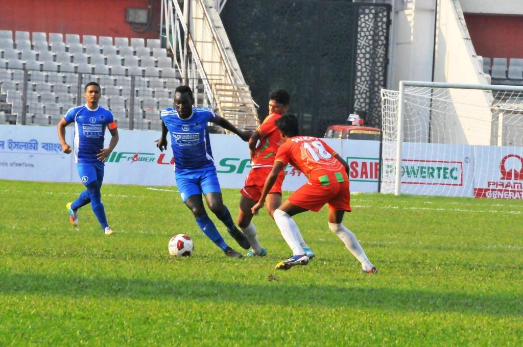 Russel thrash Muktijoddha 3-0