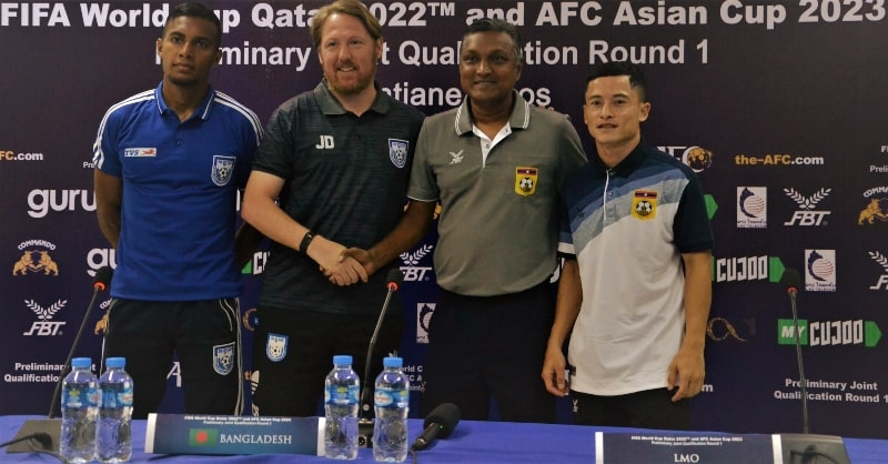 Jamal and Co ready to take on Laos