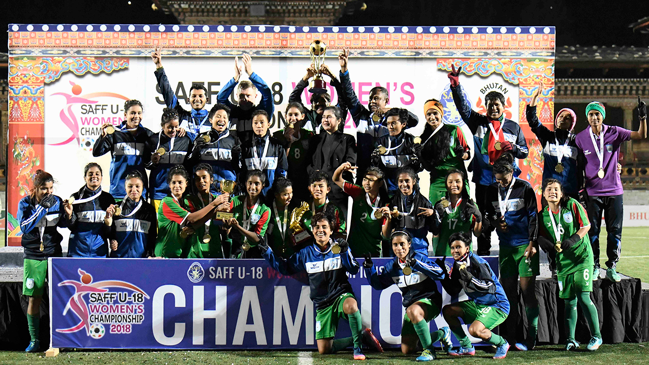 Bangladesh: Saff U-18 Women's Champion