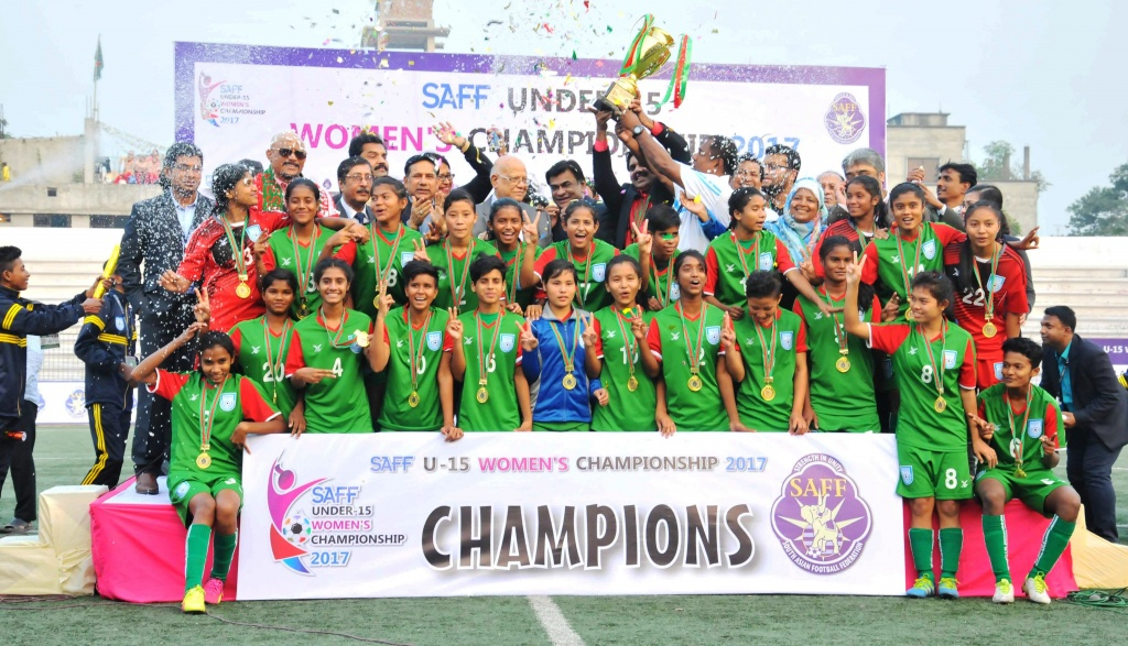 Unbeaten Bangladesh clinch SAFF U15 title