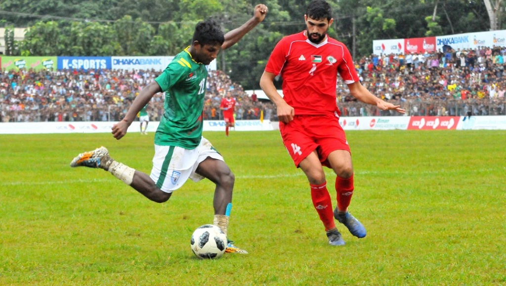 Palestine into final, Bangladesh bow out