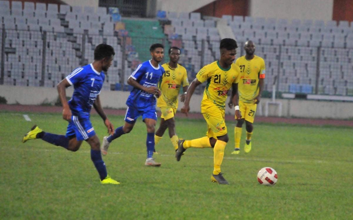 Sheikh Russel win 2-0 against Rahmatganj