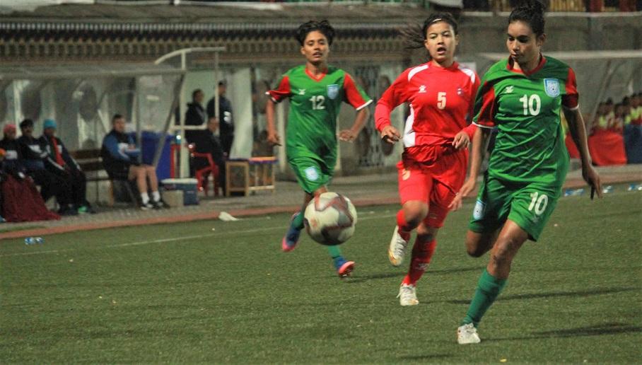 SAFF: U18 girls emerge as unbeaten Champs