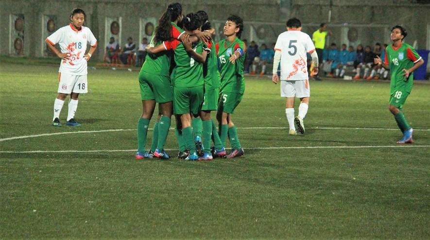 SAFF: U18 girls glide to final beating Bhutan 4-0
