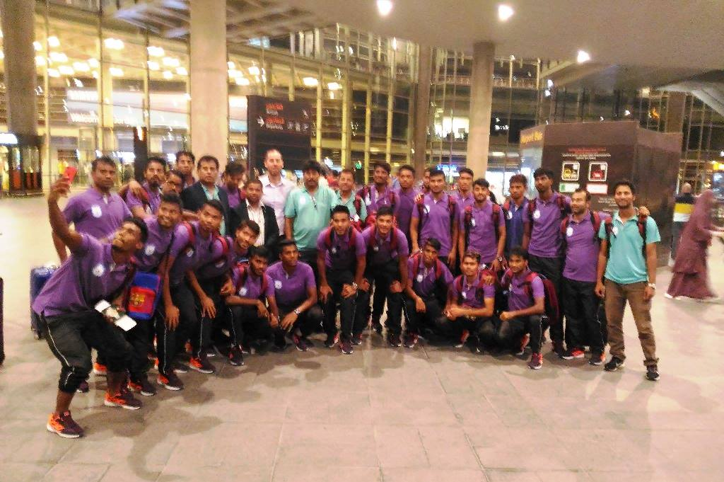 U23 reach Palestine