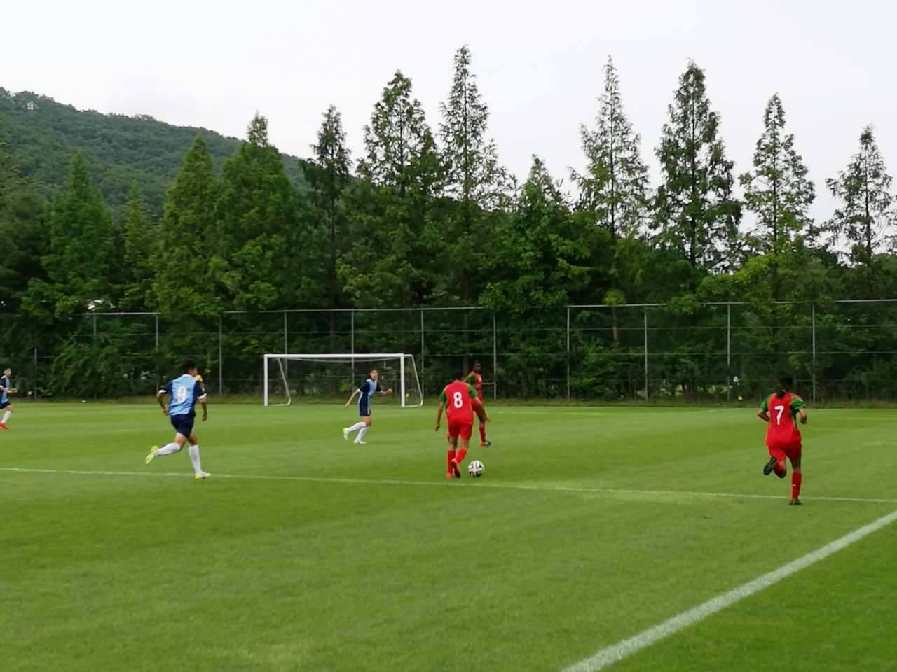 U16 girls come back to draw against S Korean side