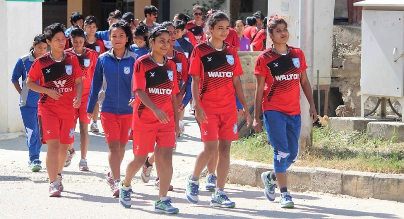 SAFF Women's U18: Prep for semis in full swing