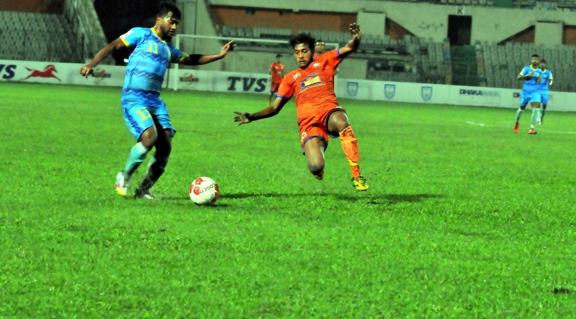 Abahani win goal fest over Brothers