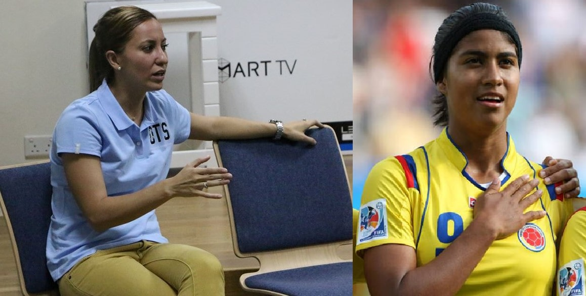 Colombian female football celebrities to visit BFF